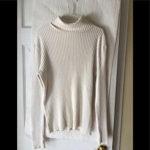 LL Bean ladies turtleneck sweater.